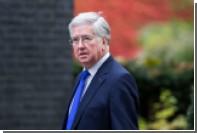 Британский министр обороны обвинил Россию в попытках расколоть НАТО