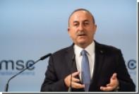 Глава МИД Турции пообещал продолжить операцию в Сирии