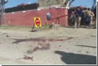 В сети появилось видео с места взрыва в Пакистане