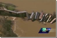 Опубликовано видео с разрушающейся плотины в Калифорнии