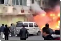 При пожаре в массажном салоне на востоке Китая погибли 18 человек