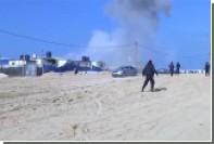 Опубликовано видео удара израильских ВВС по по позициям ХАМАС в секторе Газа