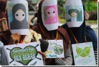 В ряде регионов Индонезии запретили День святого Валентина