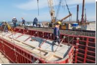 Начались работы по сооружению морских пролетов Крымского моста