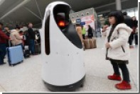 В Китае заступил на службу первый робот-патрульный
