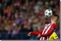 Форвард «Атлетико» Торрес забил мяч ударом через себя