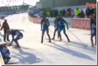 Фуркад подрезал Логинова в первой гонке ЧМ по биатлону