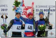 Российский лыжник победил в индивидуальной гонке на военных играх в Сочи