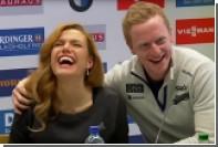 Бе пофлиртовал с Коукаловой во время пресс-конференции на ЧМ по биатлону
