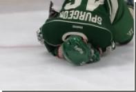 Шведский хоккеист заплатит 160 тысяч долларов за удар соперника клюшкой по лицу