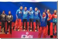 На церемонии награждения биатлонистов перепутали российский гимн