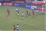 Вратарь вьетнамского клуба специально пропустил три мяча в знак протеста