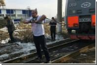 Российский тяжелоатлет сдвинул с места 288-тонный электровоз