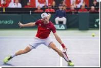 Канадский теннисист Шаповалов покалечил главного судью в матче Кубка Дэвиса