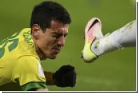 Матч с участием «Анжи» был прерван из-за массовой драки футболистов