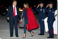 Мелания Трамп замаскировалась под мужа