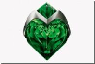 Зеленое сердце наполнили духами