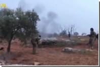 Опубликовано видео сражения пилота Су-25 с боевиками в Сирии