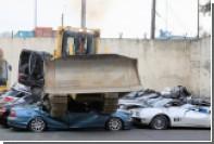 Президент Филиппин в борьбе с коррупцией раздавил десятки люксовых автомобилей