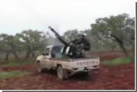 Опубликовано новое видео обстрела сбитого в Сирии Су-25