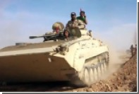 БМП-мутант заметили на сирийско-иракской границе
