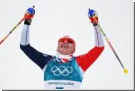 Норвежский лыжник устроил завал с россиянами и стал олимпийским чемпионом