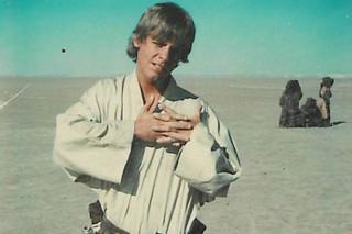 Опубликована самая первая фотография Люка Скайуокера