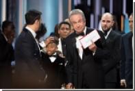 Американская киноакадемия назвала виновников скандала на «Оскаре»