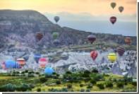 При полетах на воздушных шарах в Турции пострадали полсотни туристов