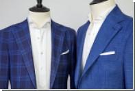 Любителям дорогих костюмов показали новые ткани