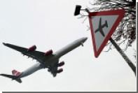 В британский пассажирский лайнер при взлете ударила молния