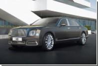 Bentley показал новую серию Mulsanne