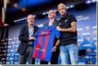 Gillette побреет футболистов Барселоны