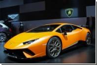 Lamborghini показала в Женеве быстрейший суперкар Нюрбургринга