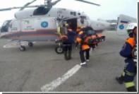 Спасение сорвавшегося в сочинских горах туриста сняли на видео