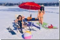 Жительницы Иркутска разделись ради рекламы местных пляжей