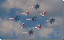 """""""Русские витязи"""" выступили за рубежом на истребителях Су-30"""