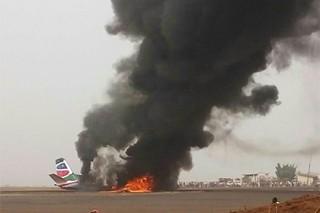 В авиакатастрофе в Южном Судане выжили несколько человек