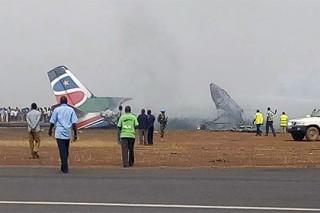 В результате авиакатастрофы в Южном Судане погибли 44 человека
