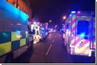 Сильный взрыв произошел на западе Великобритании