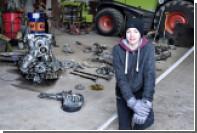 Датский школьник нашел на ферме обломки немецкого истребителя и останки пилота