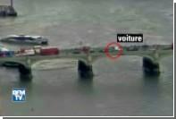 Опубликовано видео атаки на Вестминстерском мосту в Лондоне