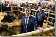 В кандидата в президенты Франции метнули яйцо
