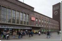 На вокзале Дюссельдорфа мужчина с топором напал на людей