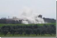 Сирийская армия атаковала позиции боевиков в городе Хама