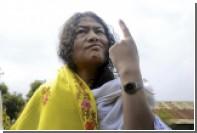 Прекратившая 15-летнюю голодовку ради выборов активистка получила 90 голосов