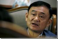 От изгнанного таиландского премьера потребовали уплаты полумиллиардного налога