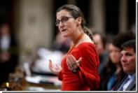 Глава МИД Канады обвинила Россию в клевете в отношении ее деда