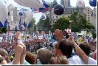 Тысячи учителей вышли на улицы Буэнос-Айреса с требованием повысить зарплаты