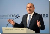 Глава турецкого МИД призвал Германию «научиться себя вести»
